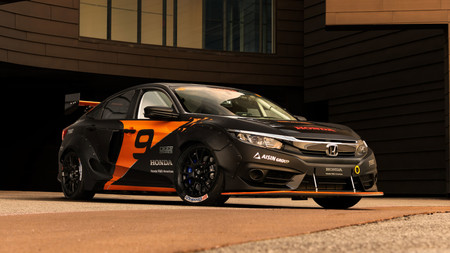 Deep Orange 9: el Honda Civic híbrido de Rallycross creado por estudiantes universitarios