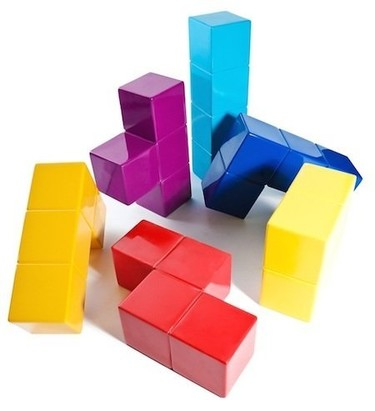 El baúl de Decoesfera: muebles y complementos inspirados en el Tetris