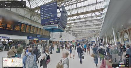 Google Street View se cuela en 16 aeropuertos y más de 50 estaciones de tren de todo el mundo