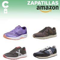 Chollos en tallas sueltas de zapatillas Munich o Saucony en Amazon por menos de 40 euros
