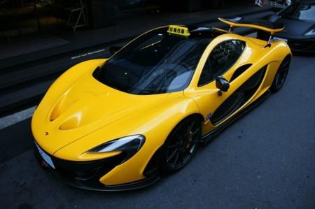 McLaren P1 Taxi 4