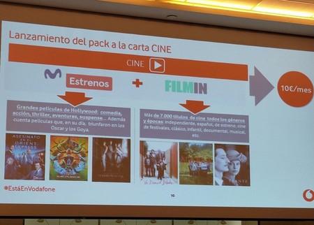 Vodafone refuerza su apuesta por el cine y las series con nuevos contenidos, canales y packs