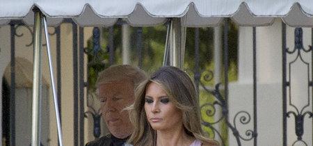 Melania Trump o cómo deslumbrar en una boda con el look de invitada perfecto