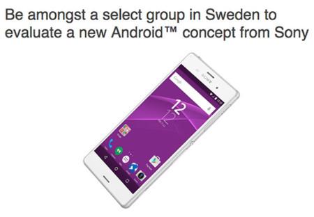 """Sony busca probadores en Suecia para """"una nueva experiencia de usuario"""" en Android"""