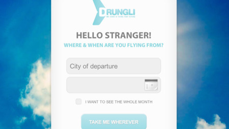 Drungli, el buscador de vuelos baratos para los más aventureros