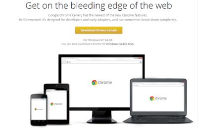 Google anuncia Chrome de 64 bit para Windows en los canales Dev y Canary