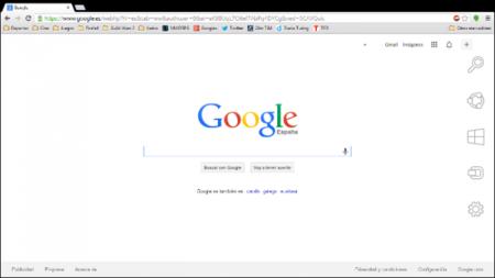 Google Crhome Modern UI