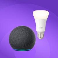 Una oferta domótica redonda: el nuevo Echo Dot 4º gen con la Philips Hue por menos de 35 euros