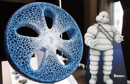 En Michelin sueñan con una rueda sin aire, hecha de materiales biodegradables