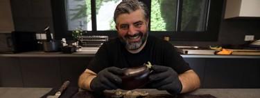 El chef jordano Omar Sartawi inventa cubrebocas a base de berenjena. Conoce esta nueva tecnología sustentable
