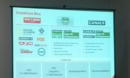 Vuelve la televisión a Vodafone con Box y YOMVI