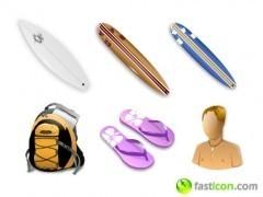 Surf Icons: Iconos surferos para nuestro Mac