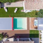 Gracias a los drones tenemos otra perspectiva de las casas… y de sus piscinas
