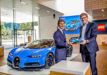 Bugatti Chiron By Lego Technic 10
