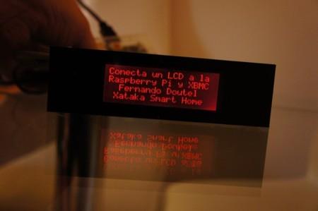 LCD conectado a la Raspberry Pi