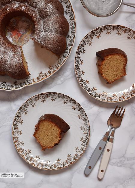 Bundt Cake de naranja, almendra y canela