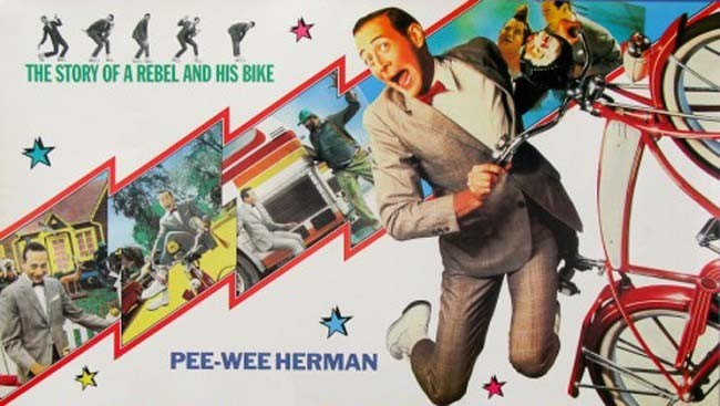 La gran aventura de Pee-Wee cartel