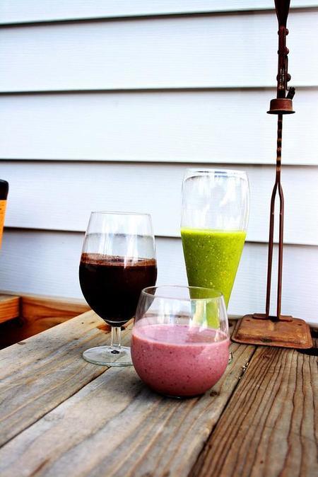 Sanos y refrescantes smoothies: endúlzate sin calorías extra