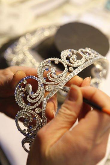 El collar-tiara Océan de Van Cleef & Arpels, regalo de boda de Alberto II de Mónaco a su esposa