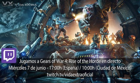 Streaming de Gears of War 4: Rise of the Horde a las 17:00h (las 10:00h en Ciudad de México)