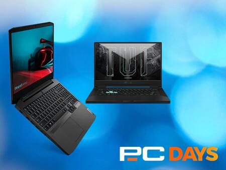 PcDays de PcComponentes: nueve portátiles para jugar, trabajar o ir a clase de oferta con gran relación calidad precio