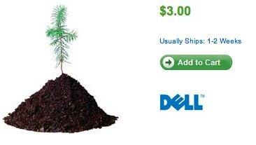 Dell te dice: 2 dólares y te plantamos un árbol