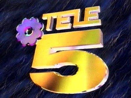 Logo Telecinco años 90