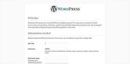 Hablando de Azure, configuración de WordPress