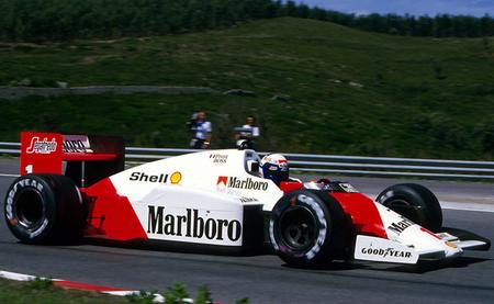 Alain Prost McLaren 1986