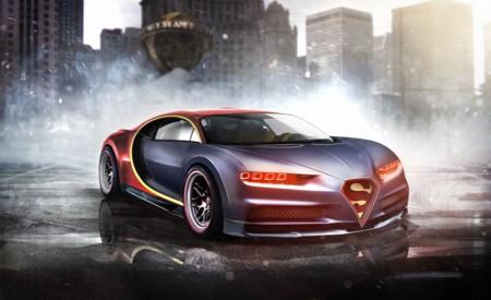 El Bugatti Chiron de Superman