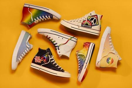 Converse celebra el Día del Orgullo Gay tiñendo de arco iris sus zapatillas más icónicas