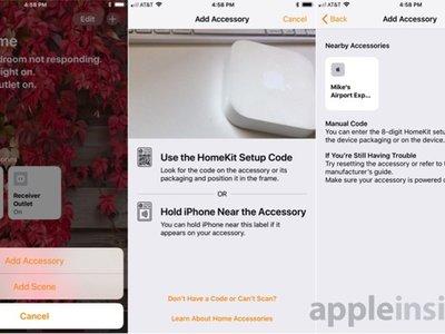 El AirPort Express aparece como accesorio de HomeKit en la beta de iOS 11.4