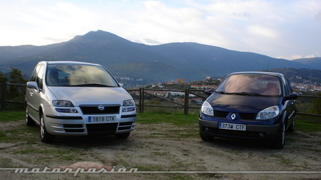 Fiat Ulysse y Renault Grand Scénic