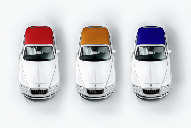 Rolls-Royce Dawn Inspired by Fashion luxury and trend to the maximum level
