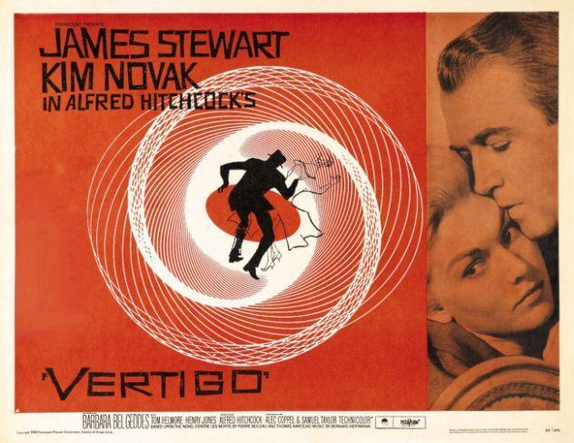 Resultado de imagen de película Vértigo