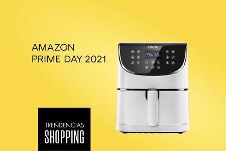 El gadget perfecto para llevar una dieta saludable es la freidora sin aceite de Cosori más vendida en Amazon (rebajadísima en el Prime Day)
