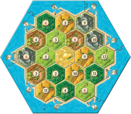 Settlers Of Catan Board