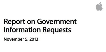 Apple publica un informe detallando las solicitudes de datos de usuarios del gobierno