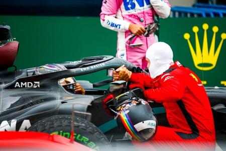 Hamilton Vettel Turquia F1 2020