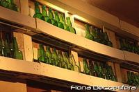 Hemos visto... un botellero decorativo hecho con palés