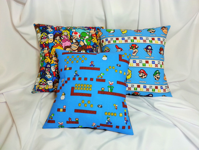 Cojines Nintendo