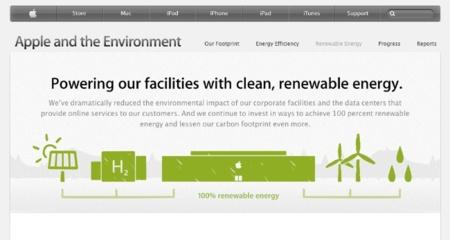 Los centros de datos de Apple ya utilizan energía cien por cien limpia y renovable