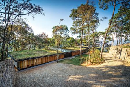 Irekua Anatani, una sorprendente casa que se mimetiza con su entorno