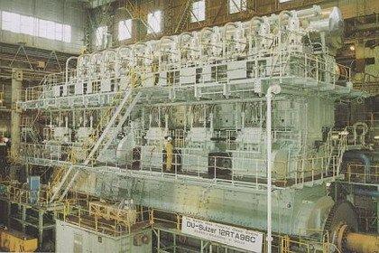 El motor diesel más potente del mundo