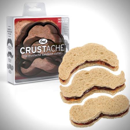 Crustache, bocadillos con forma de bigote