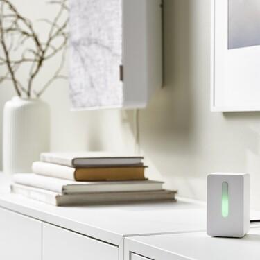 Ikea lanza un sensor para medir la calidad del aire en el hogar (y es fácil de manejar, y muy económico)