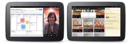 Multitarea en tabletas Ubuntu