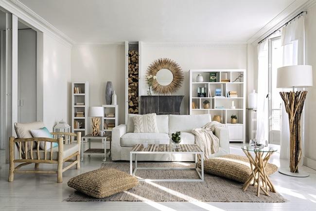 9 muebles y accesorios de fibras naturales imprescindibles for Maison du monde y