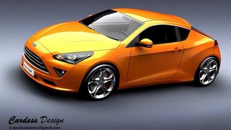 ¿Ford Focus Coupé en 2013? De momento un ejercicio de diseño