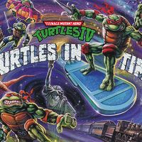 La banda sonora del legendario Teenage Mutant Ninja Turtles IV: Turtles in Time se lanzará en forma de vinilo